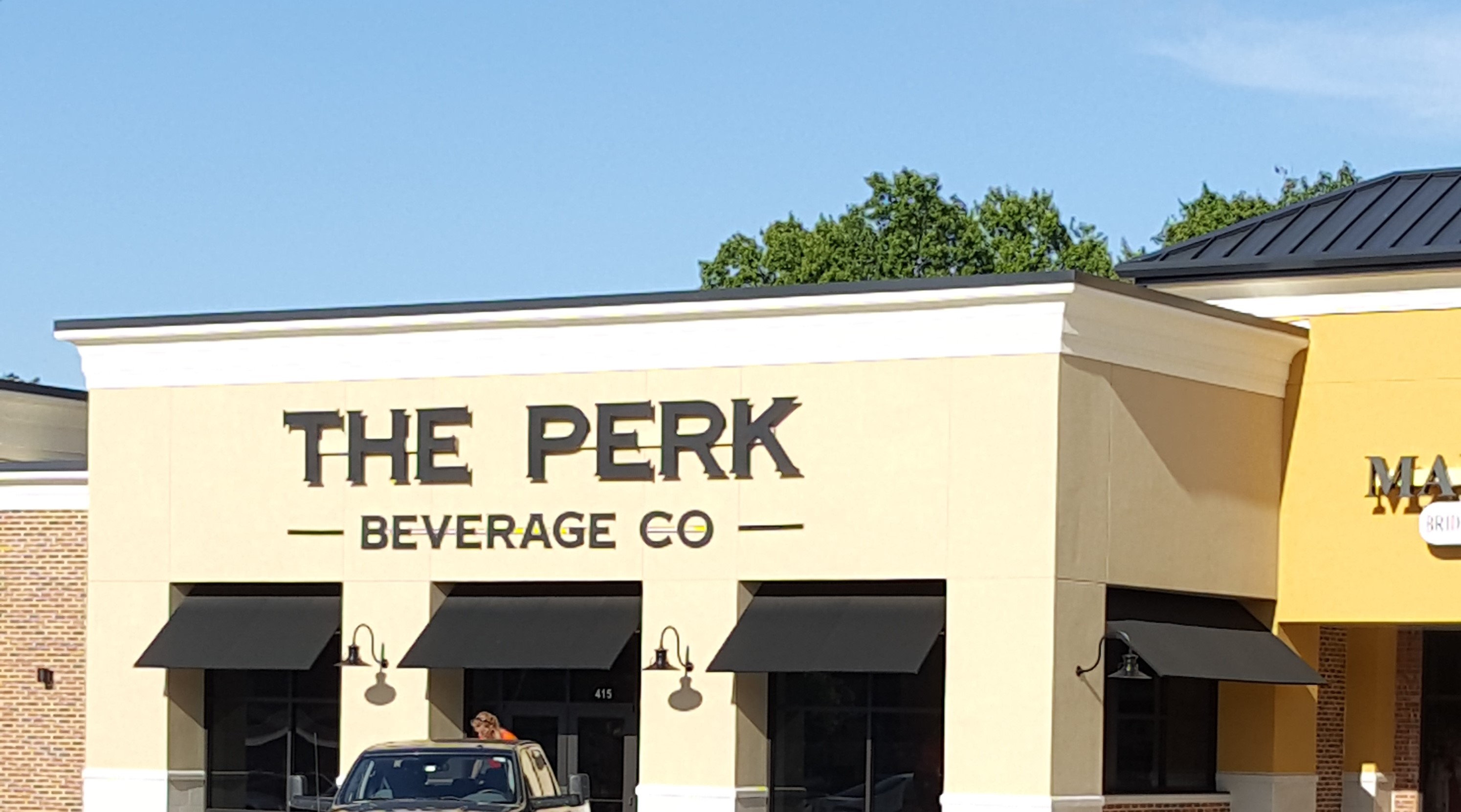 The Perk Custom Sign